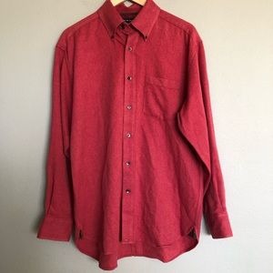 Tommy Hilfiger Long Sleeve Red w/ Paisley Insert